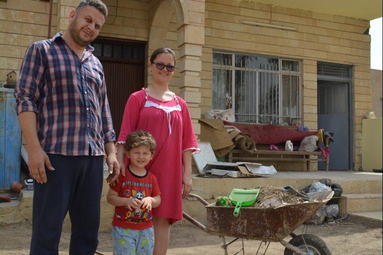 Christian family home rebuilt in the Nineveh Plains