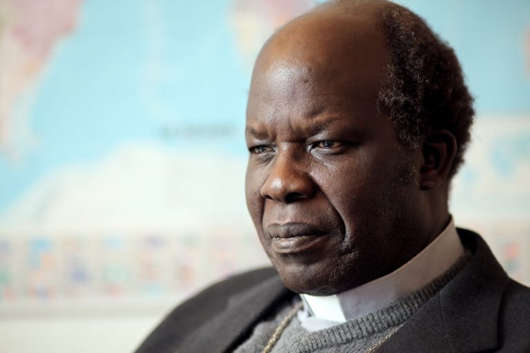 Bishop Daniel Adwok Kur of Khartoum, Sudan (© Aid to the Church in Need)