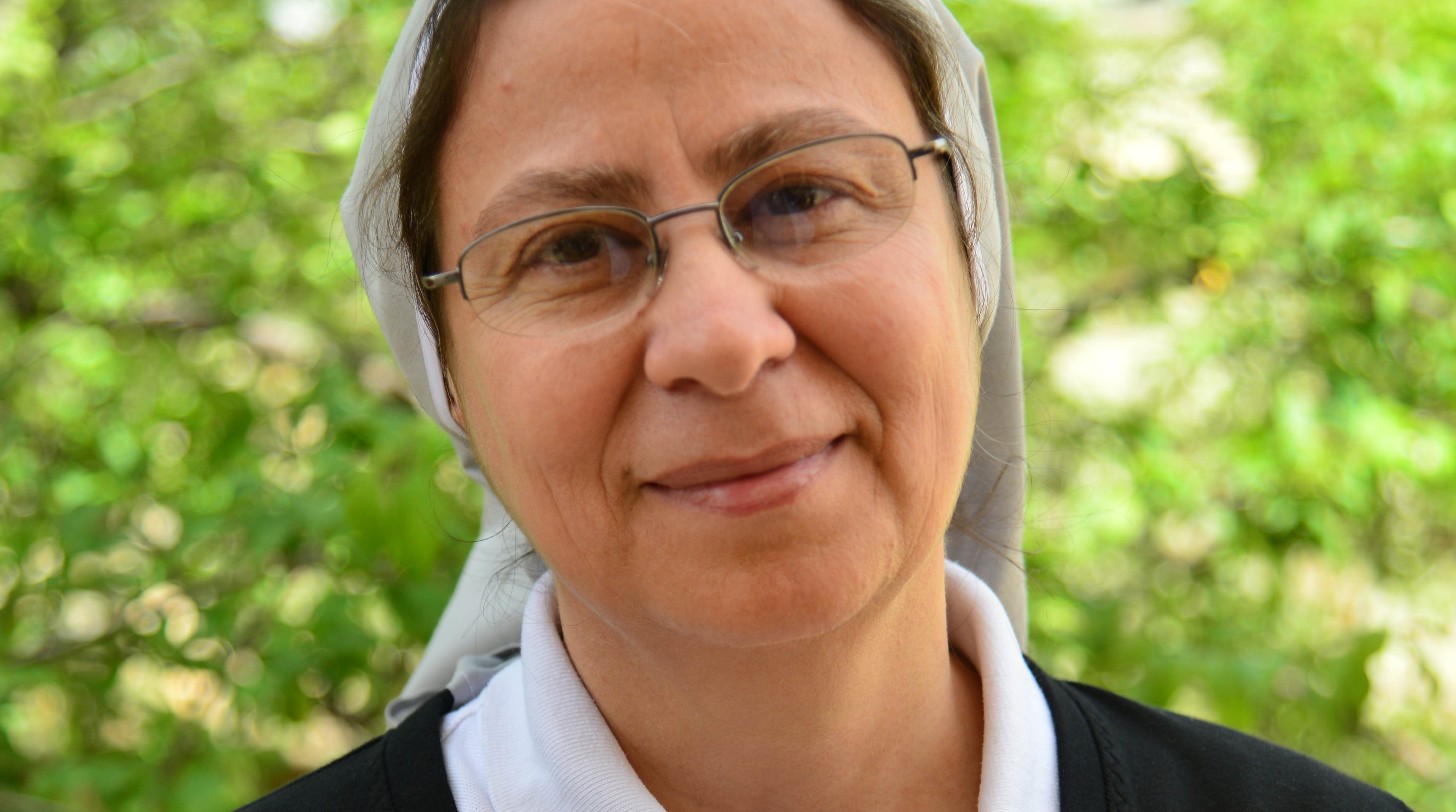 Sister Annie Demerjian in Damascus, Syria (© Aid to the Church in Need)