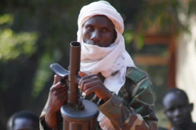 A member of the rebel militia group Séléka (© Fr. Aurelio Gazzera/Aid to the Church in Need)