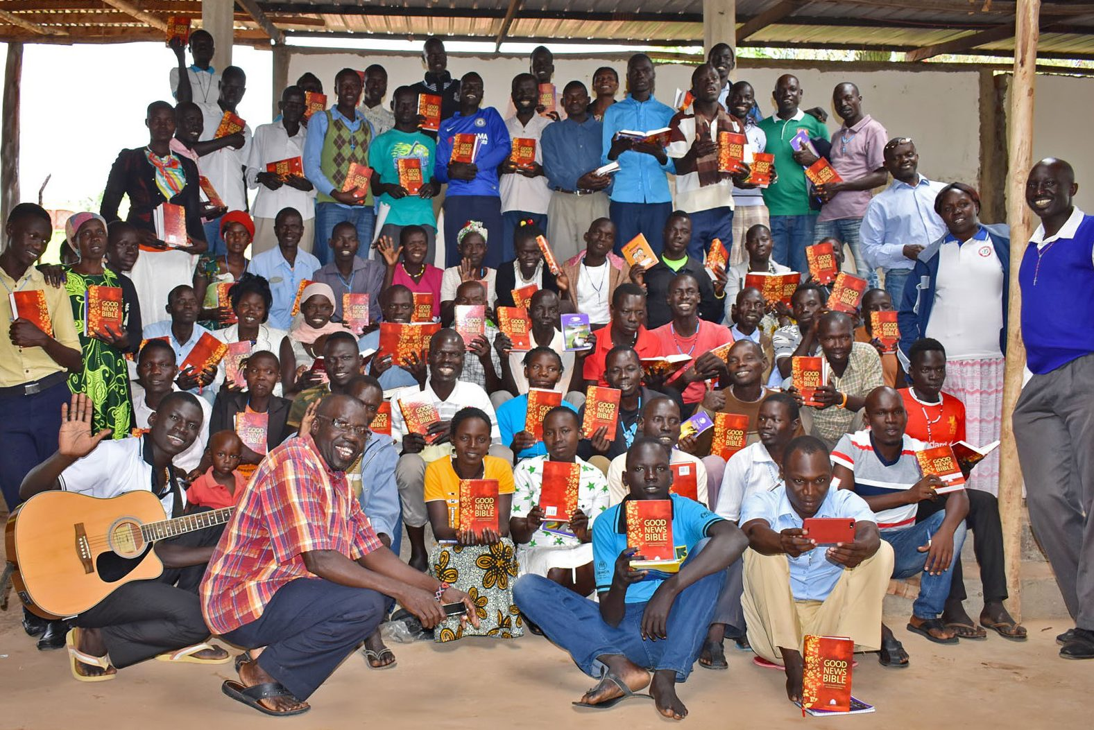 Emmaus Community training South Sudanese catechists in Uganda's Bidibidi and Palorinya refugee camps (©ACN)