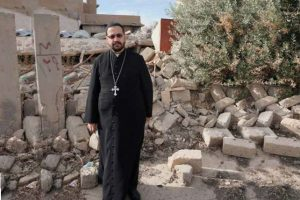 "In Bartella, Fr Yacoub told me ""The people lost everything they had, but they did not lose their faith. They come more and more to church and are more fervent than ever before. Nowadays our families trust in the Church only – not the government, not anything else"