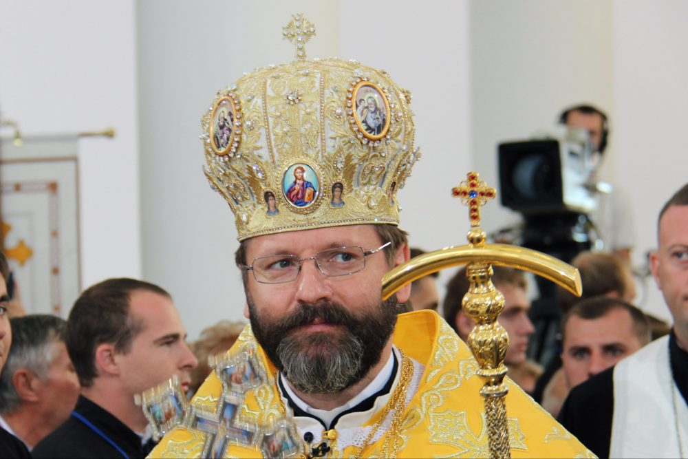 Major Archbishop Svatoslav Shevchuk, head of the Ukrainian Greek-Catholic Church (© Aid to the Church in Need)