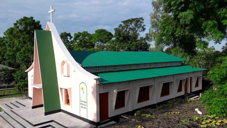 St Anthony's Ashram at Borobari-Dostompur, Pirganj, Thakurgaon