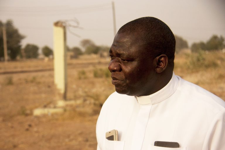 Father John Bakeni of Maiduguri Diocese (© Aid to the Church in Need)