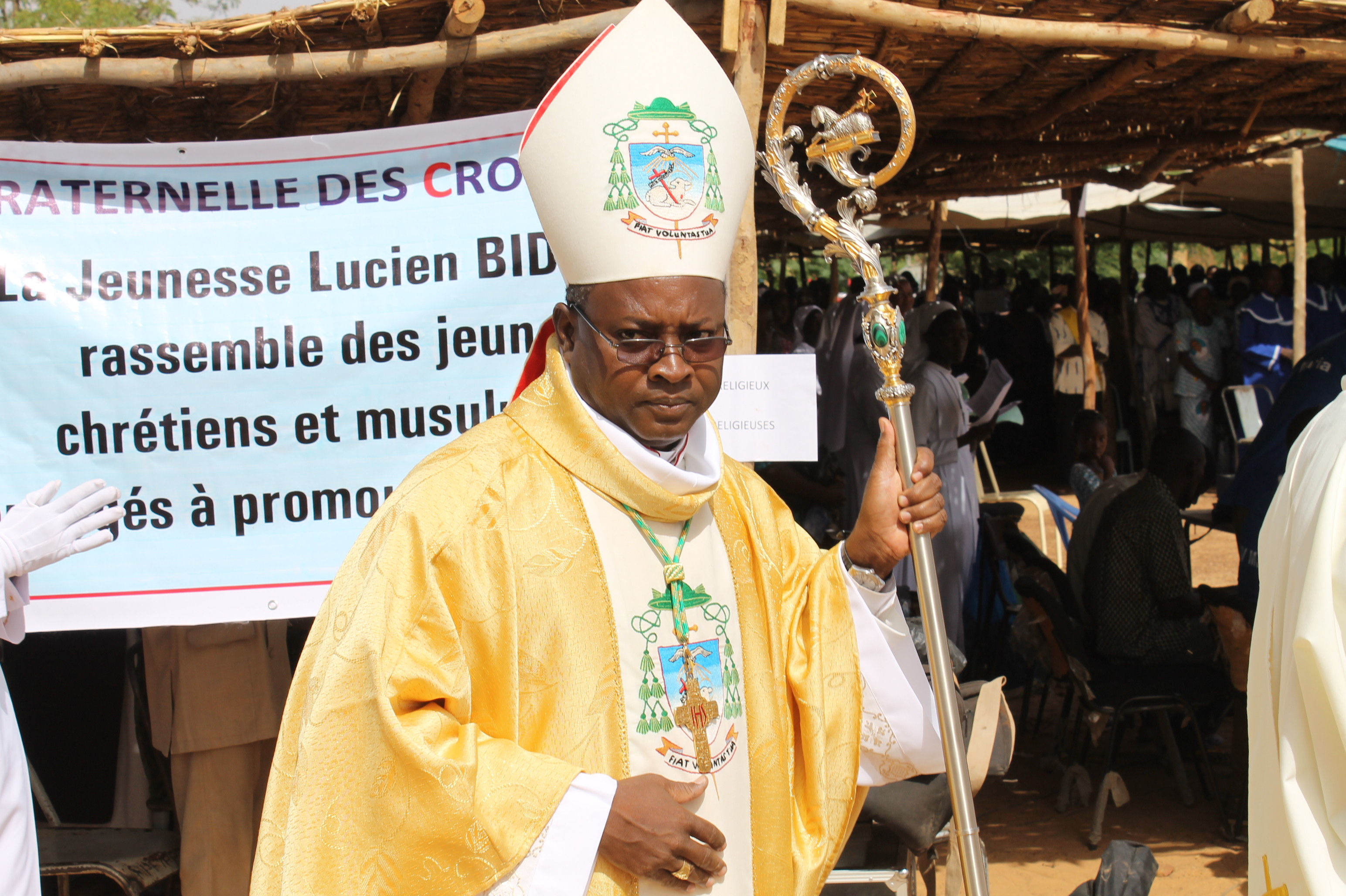 Bishop Laurent Birfuoré Dabiré of Dori