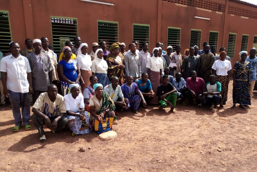 Displaced Christians in Titao, Burkina Faso