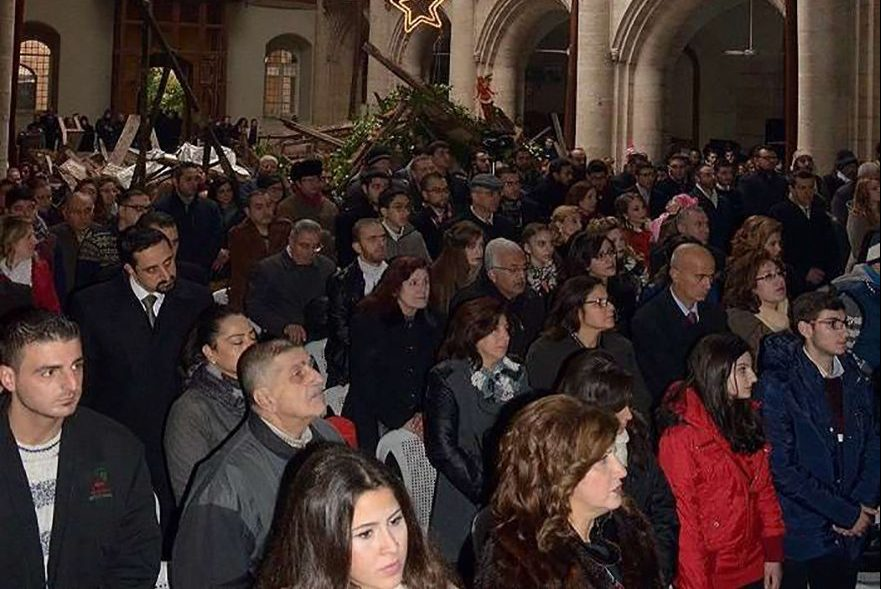 Syrian Christians celebrate Christmas in Aleppo (© Aid to the Church in Need)