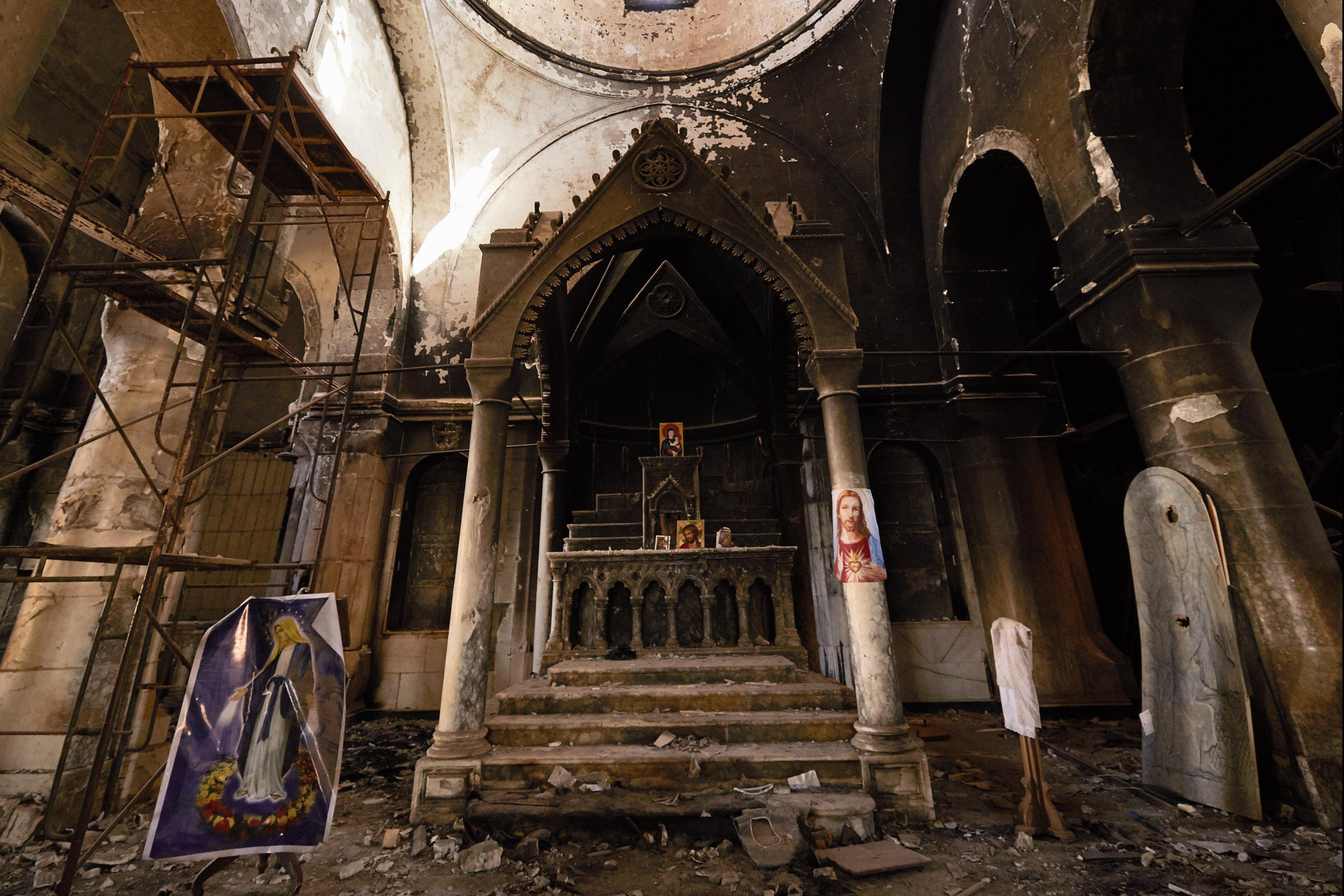 The Great Al-Tahira Church, Baghdeda (credit: Jako Klamer/Aid to the Church in Need)