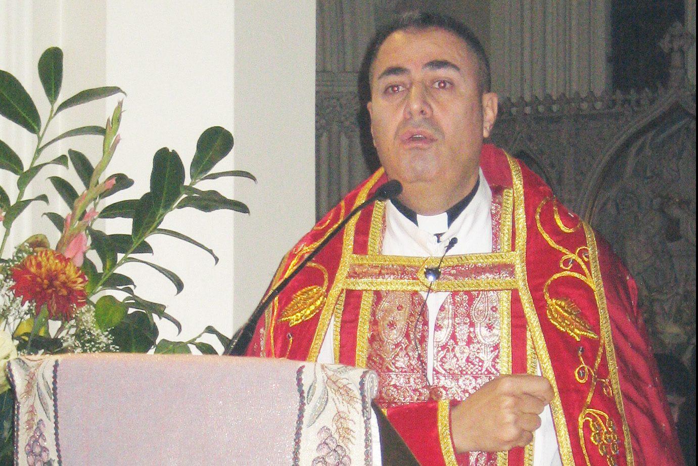 Syriac Catholic Archbishop Nathaniel Nizar Semaan of Hadiab-Erbil.