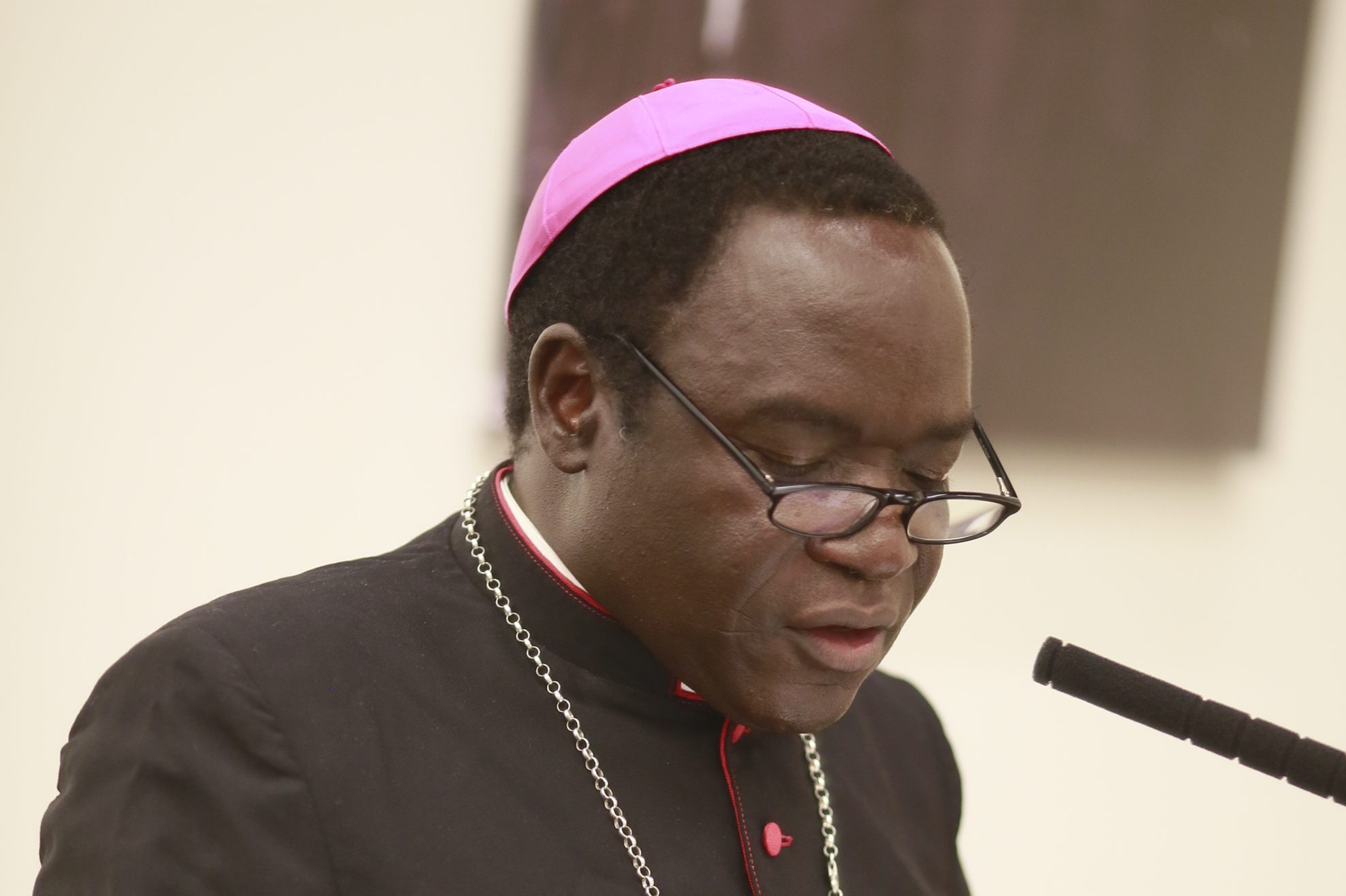 Bishop Matthew Kukah of Sokoto, Nigeria