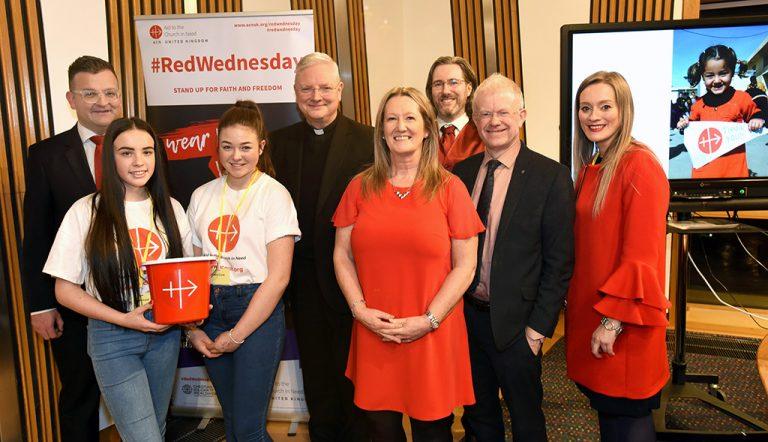 Scotland National #RedWednesday event 2020