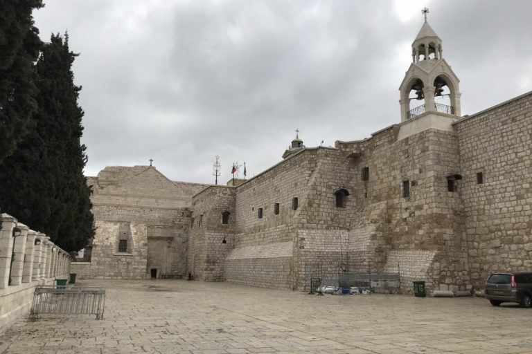 Manger Square, Bethlehem © Friends of the Holy Land
