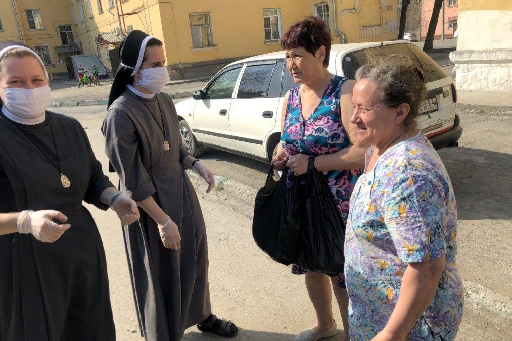 The Sisters of St Elizabeth have been working in Russia for more than 25 years and continue to do so during the pandemic.