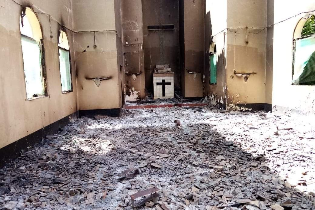 The Catholic Church in Mocímboa da Praia was attacked by armed extremists on 27th and 28th of June 2020.