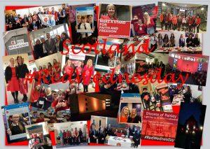 #RedWednesday Scotland Showreel
