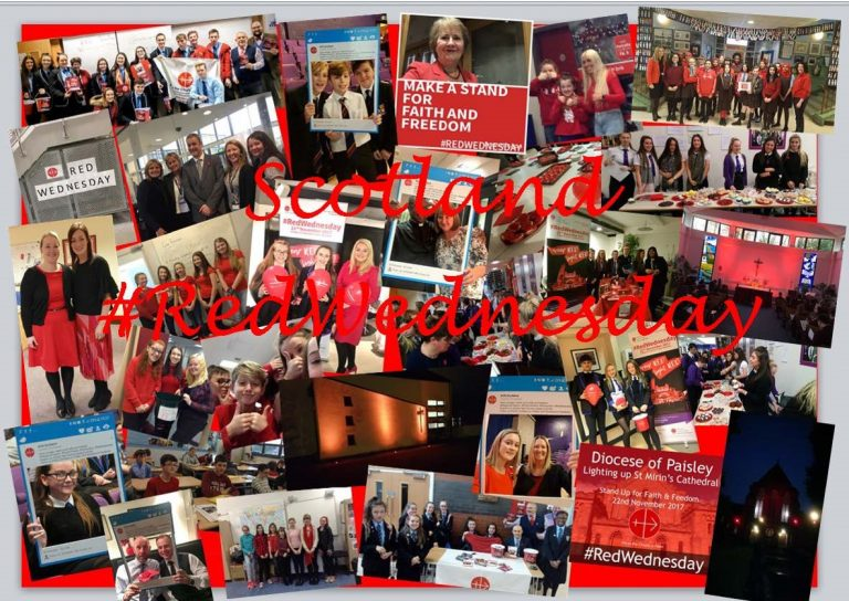 #RedWednesday Scotland Showreel