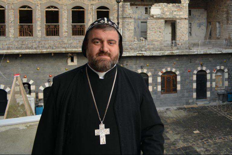 Syriac Orthodox Archbishop Selwanos Petros Al-Nemeh of Homs and Hama