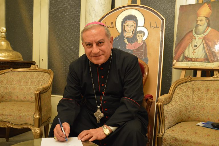 Bishop Antoine Chahda of Aleppo (Image © Aid to the Church in Need)