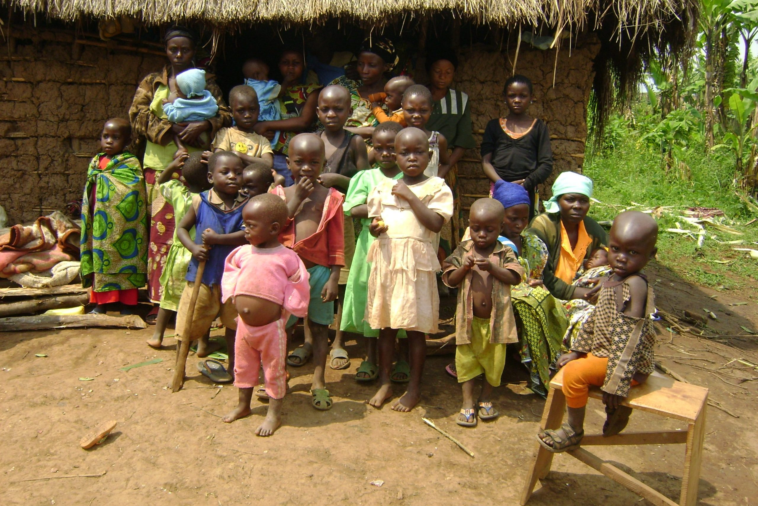 With image of refugees and IDPs in the east of the Democratic Republic of Congo (Image © Aid to the Church in Need)