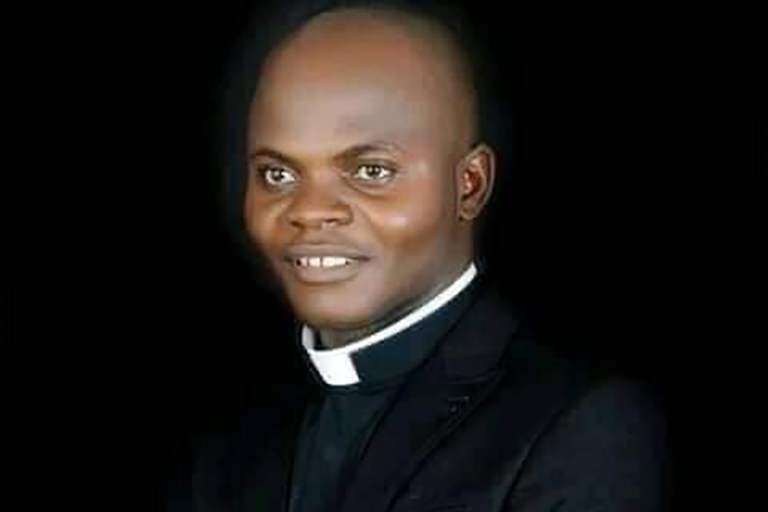 With image of Father John Gbakaan Yaji (Credit: Father Emmanuel Anyanywu)