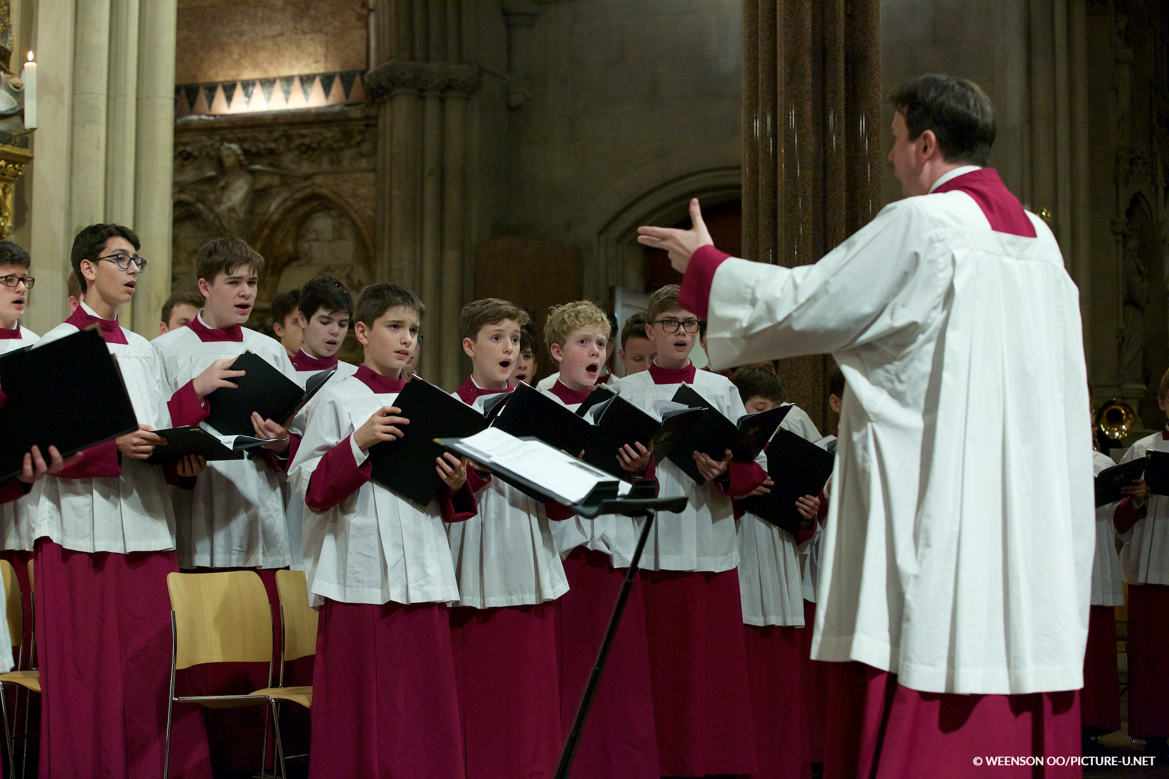 London Oratory School Schola Cantorum (© Weenson Oo/picture-u.net)