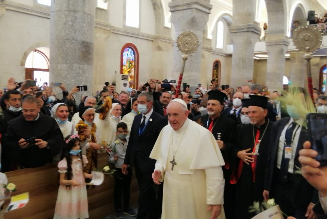 Pope Francis in Iraq (© Aid to the Church in Need)