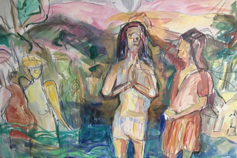 Baptism in the Jordan by Elizabeth Duncan Meyer