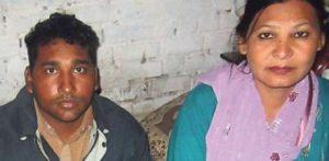 Shafqat Masih and Shagufta Kausar