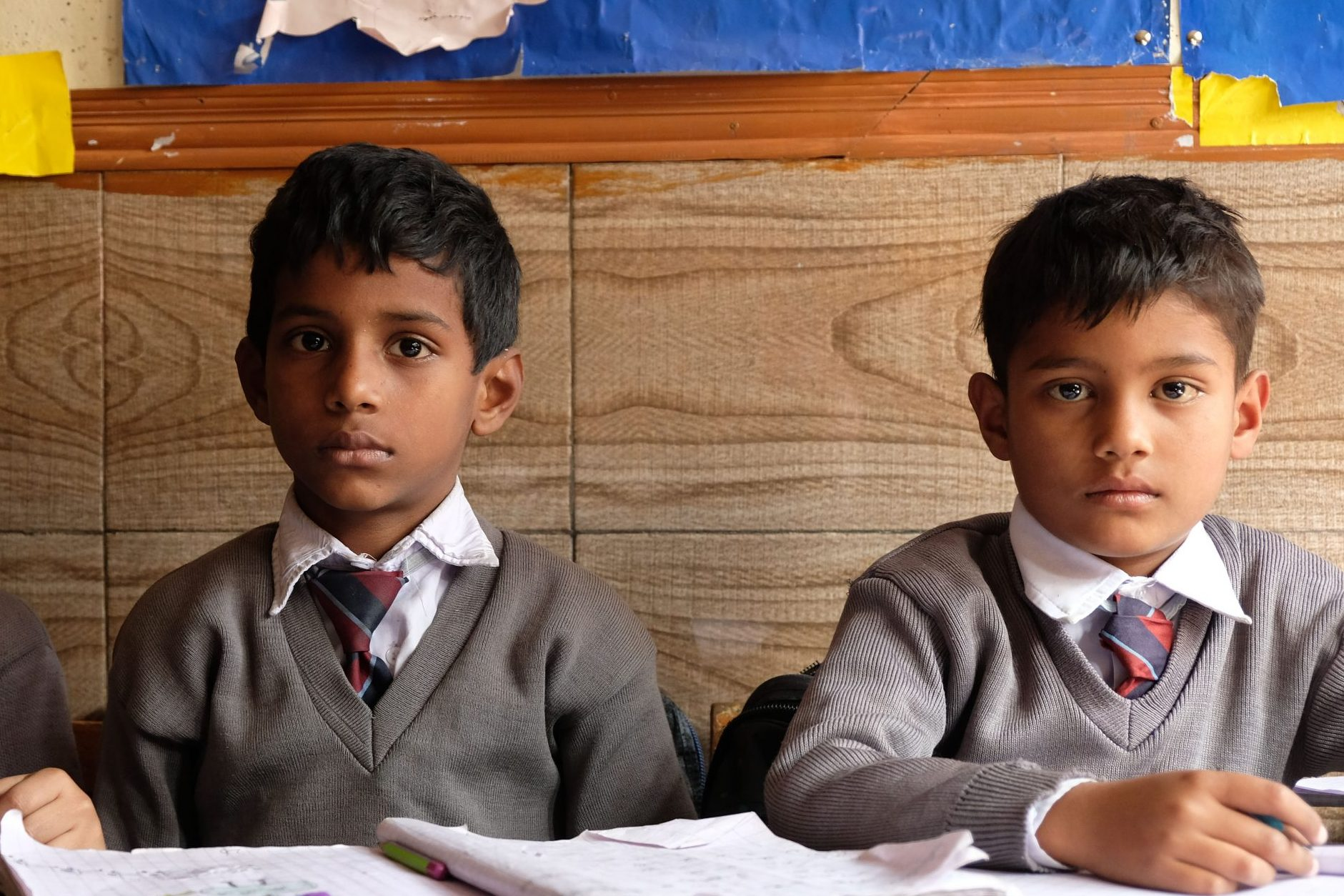 With stock image of Christian school children (© Aid to the Church in Need)