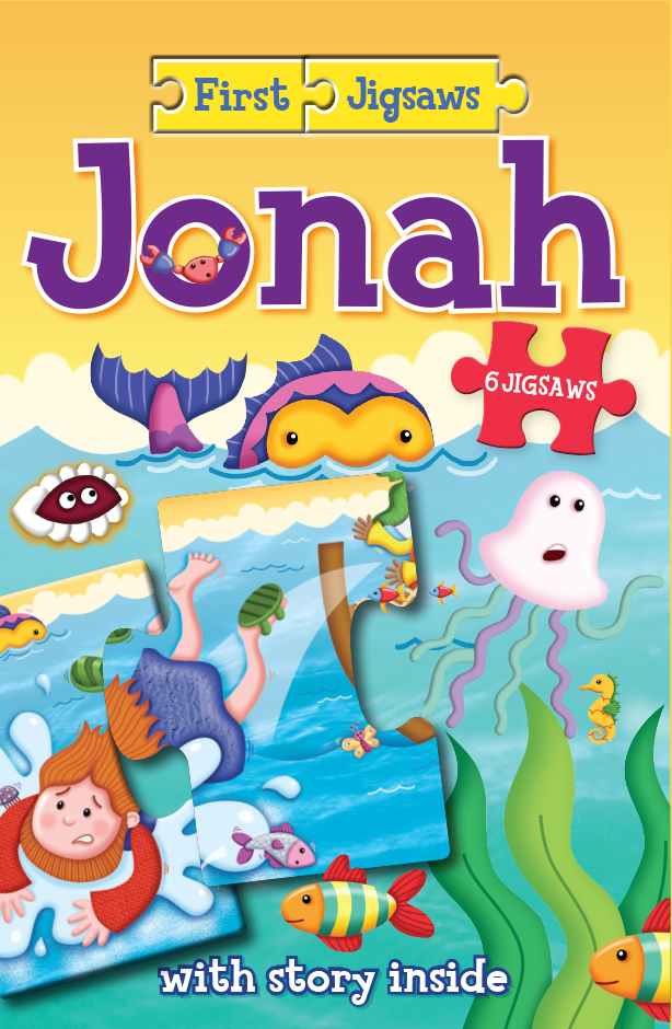 First Jigsaw of Jonah, 6 Jigsaws and Booklet