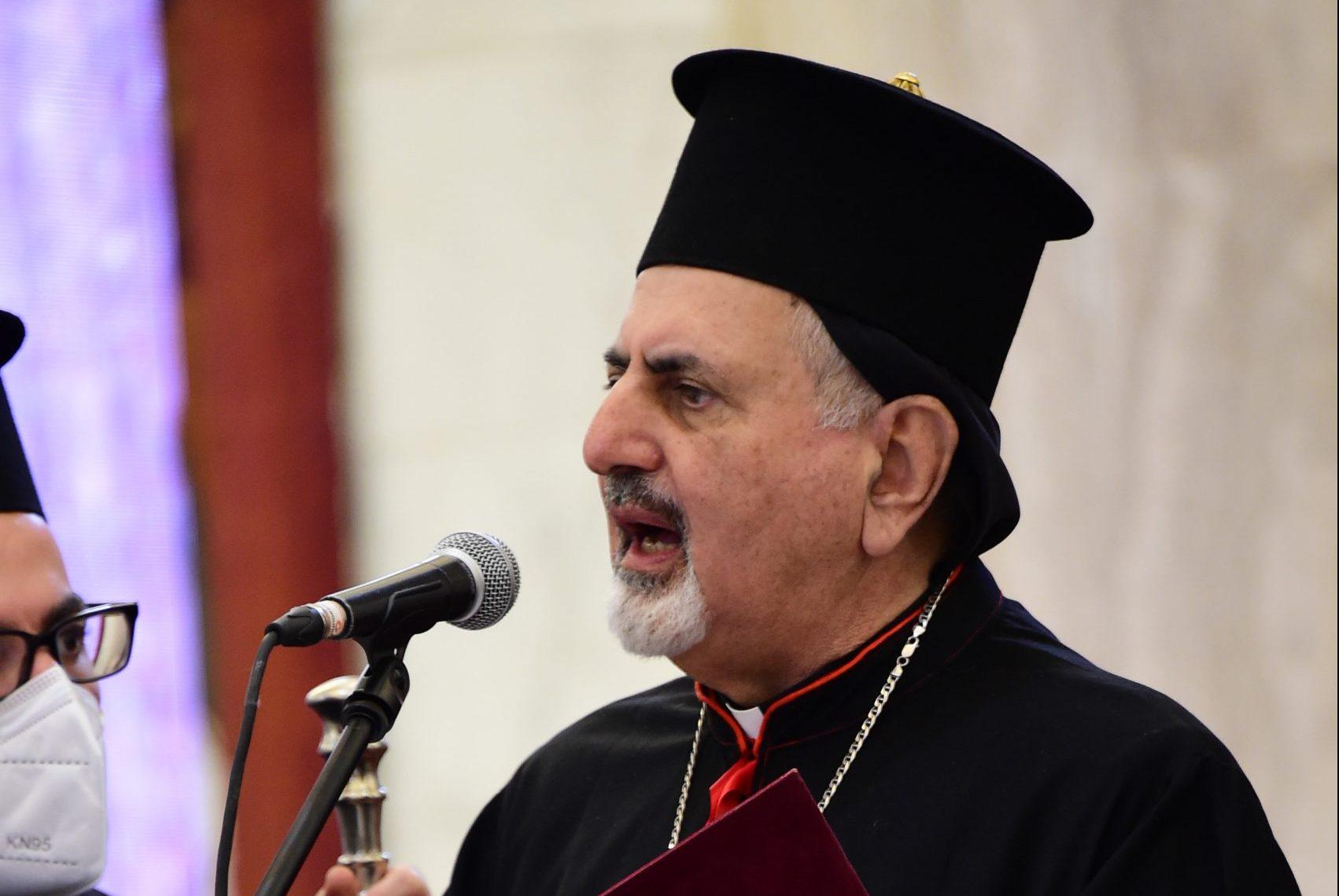 With image of Syriac Catholic Patriarch Ignatius Joseph III Younan (© Aid to the Church in Need)